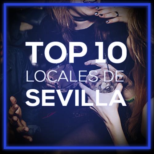 Mapa de discotecas en Sevilla la Nueva