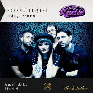 Lady Radio concierto