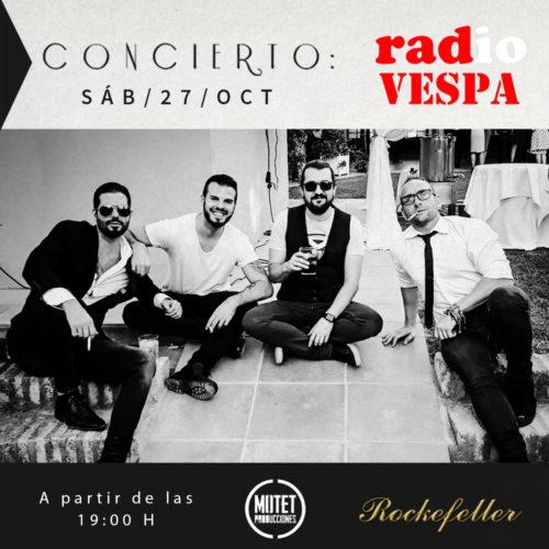 Concierto Rockefeller Radio Vespa
