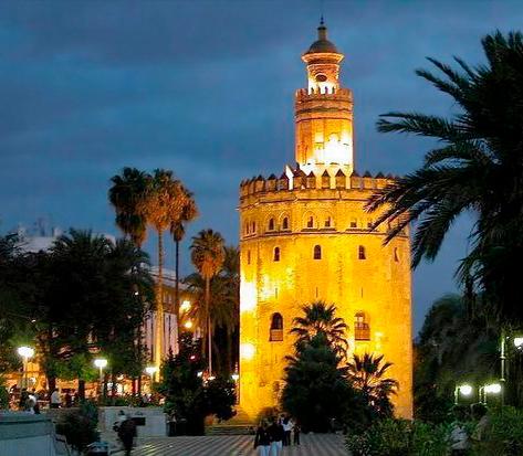 Torre del Oro Sevilla - Paseo Colón